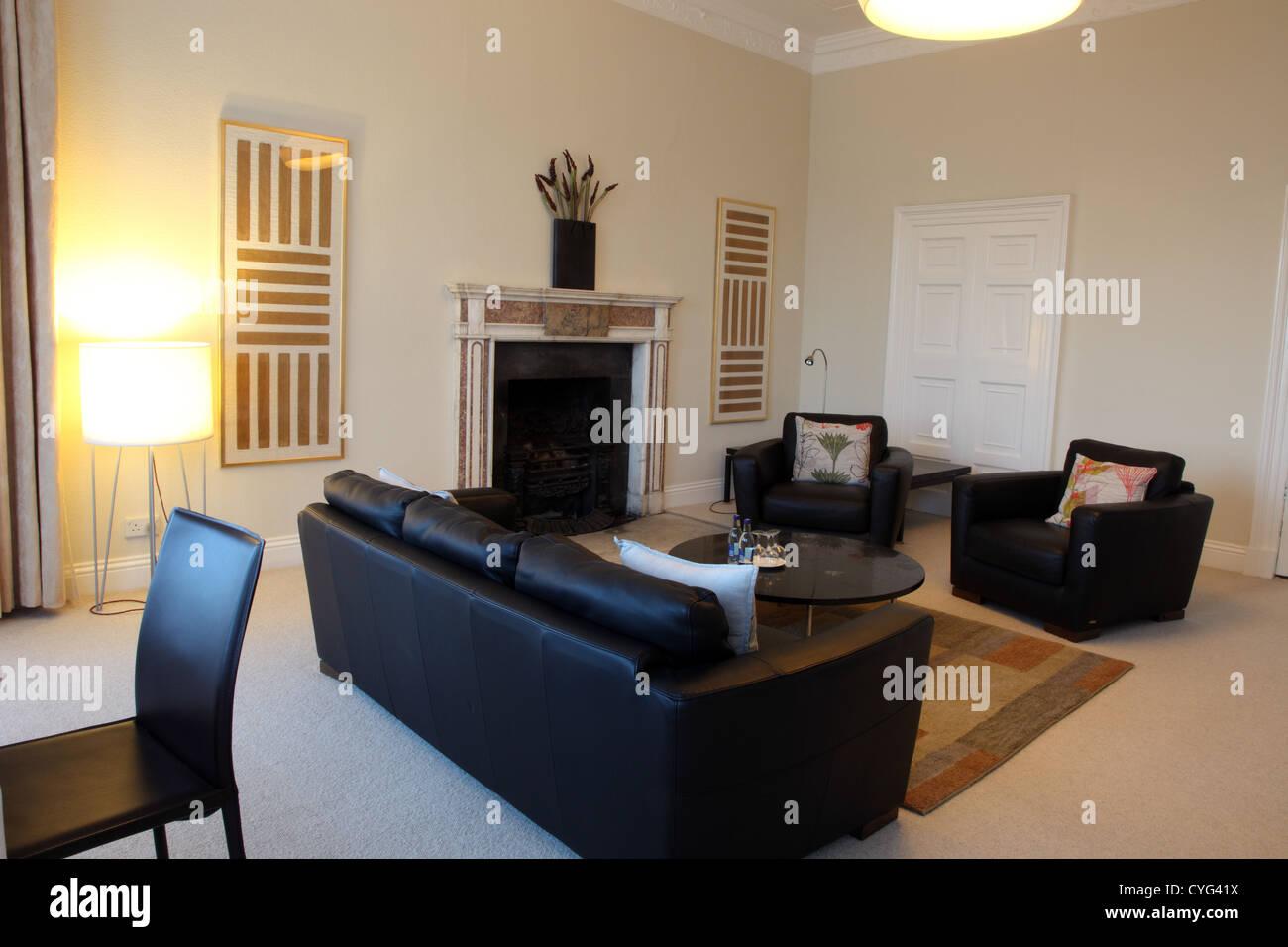 Presidential Suite sitting room, Butler House, Kilkenny - Stock Image