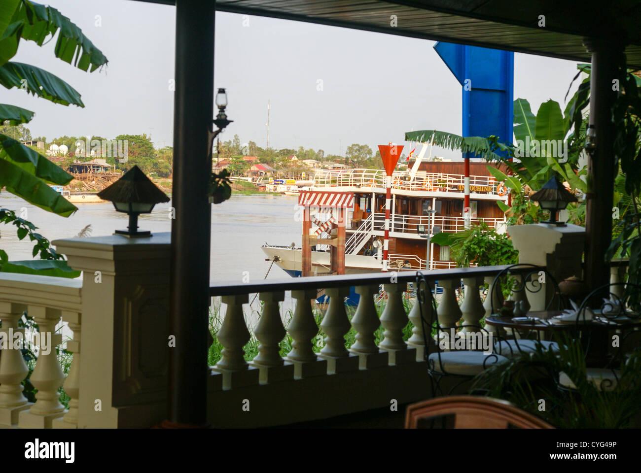 Vietnam, Chau Doc, Mekong River Delta - Stock Image