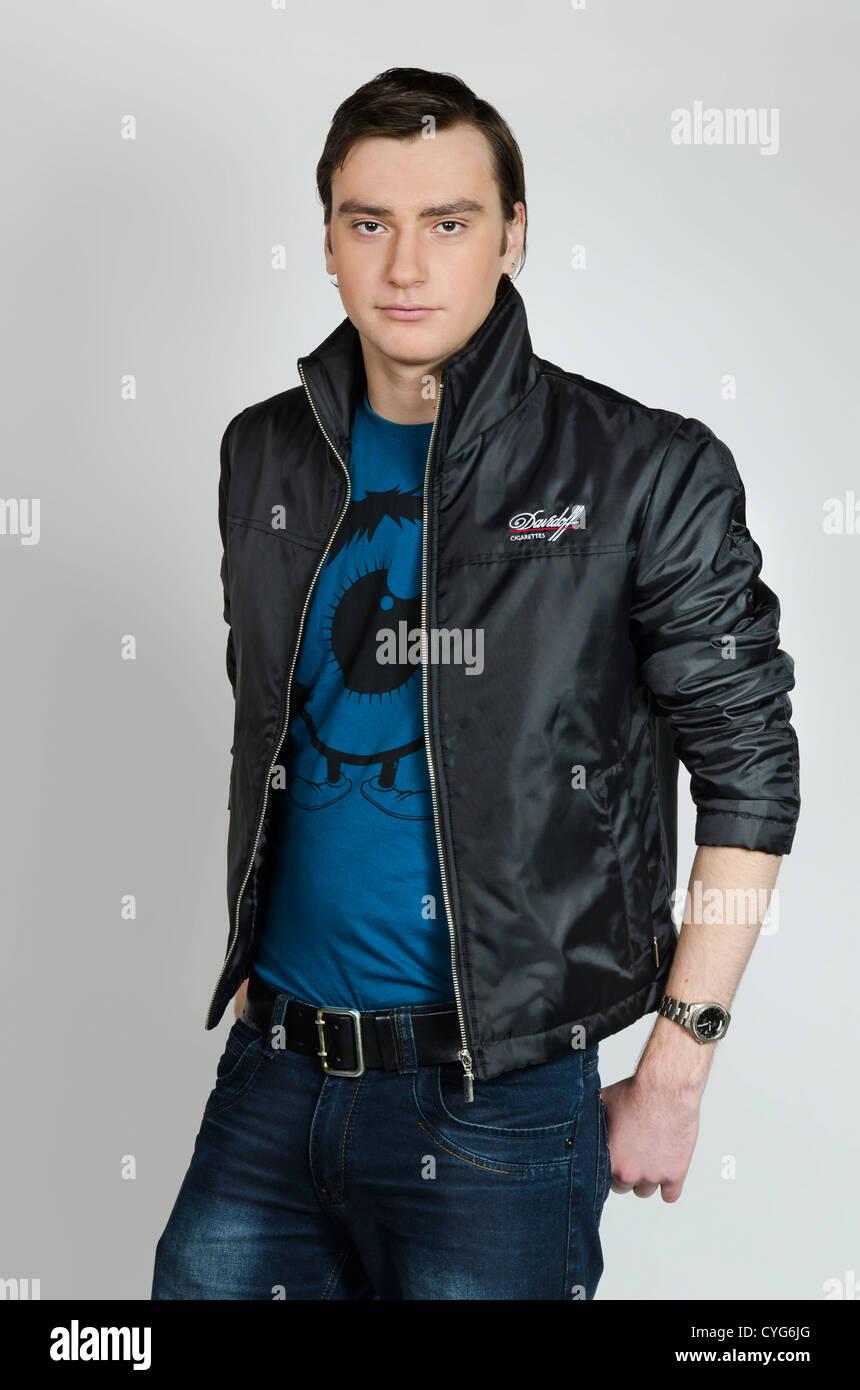 Davidoff cigarettes  Man - Promotional clothing fashion
