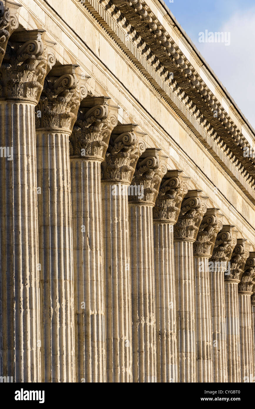 neoclassical architecture england stock photos neoclassical