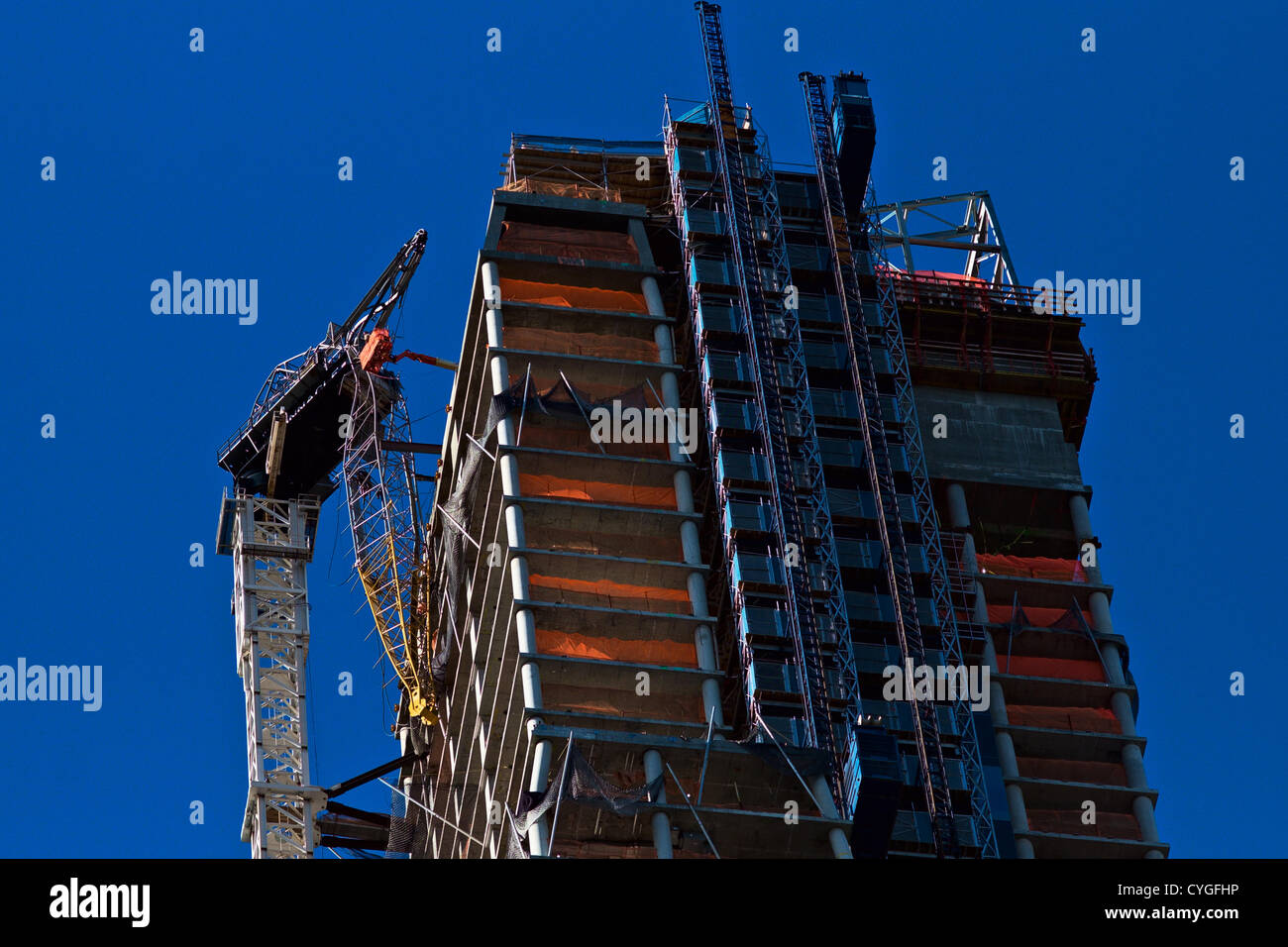 Building Collapse During Construction Stock Photos