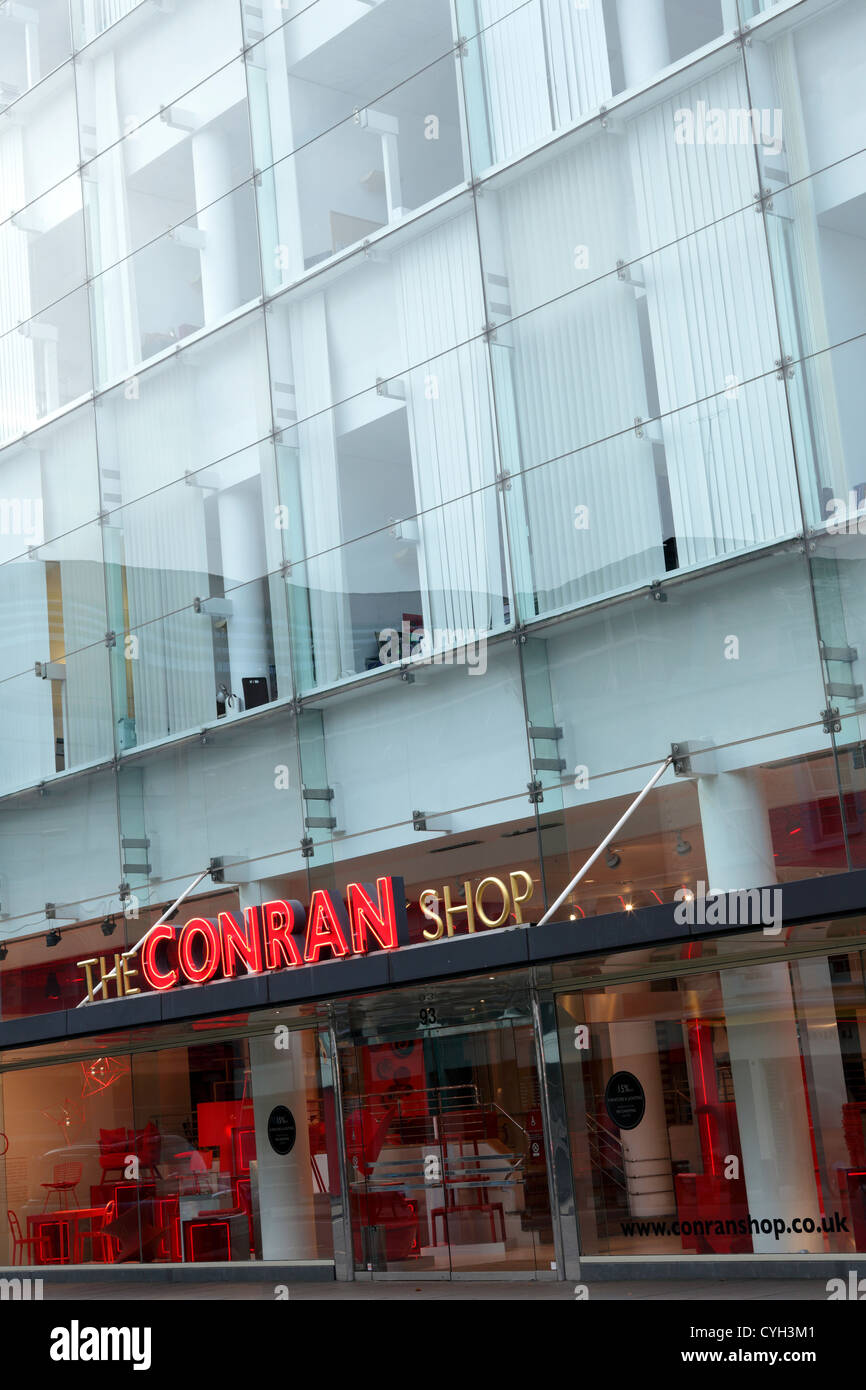 The Conran Shop, popular modern design retail outlet in Sloane Avenue,Chelsea. - Stock Image