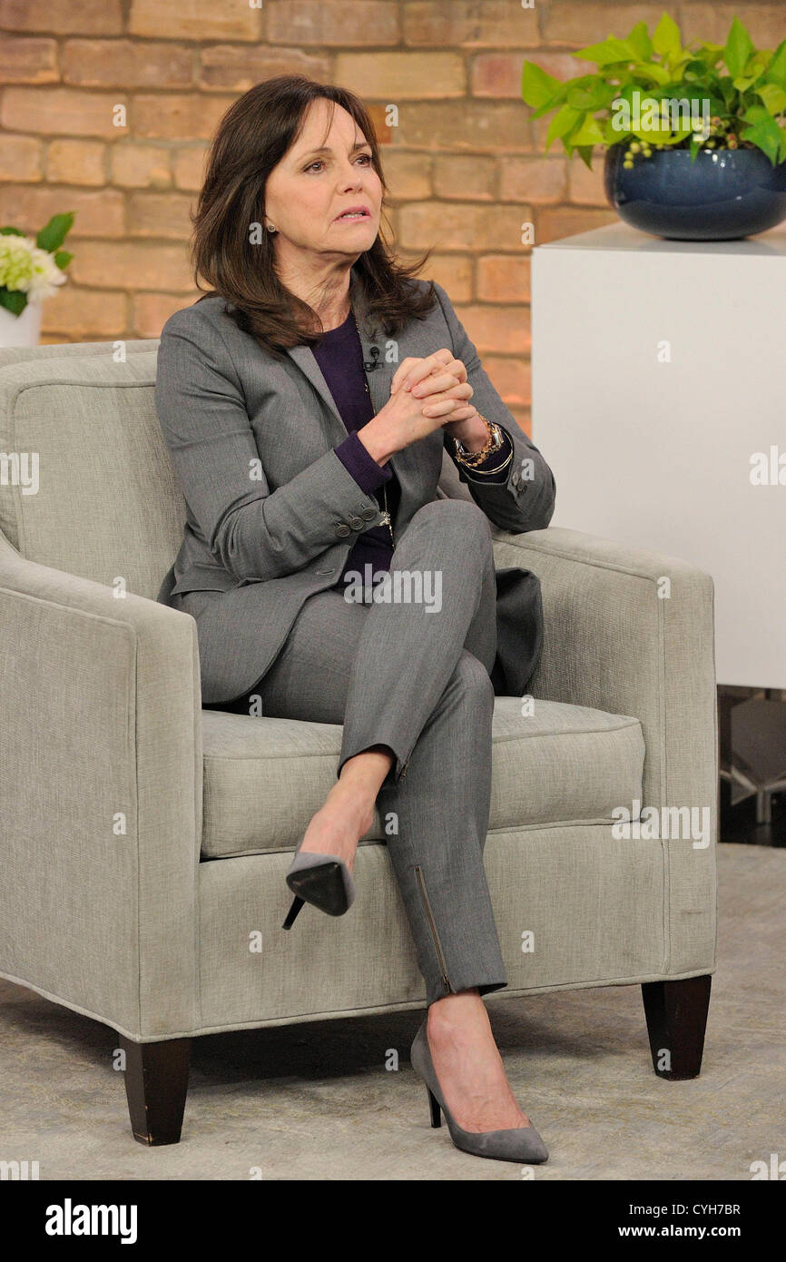 November 5, 2012. Toronto, Canada. Two-time Academy Award winner Sally Field stops by CTV's The Marilyn Denis - Stock Image