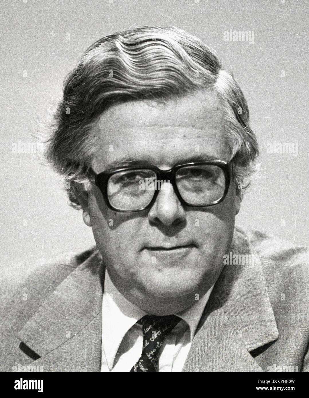 Richard Edward Geoffrey Howe Baron Howe of Aberavon CH QC PC known 1970-1992 as Sir Geoffrey Howe is a former British - Stock Image