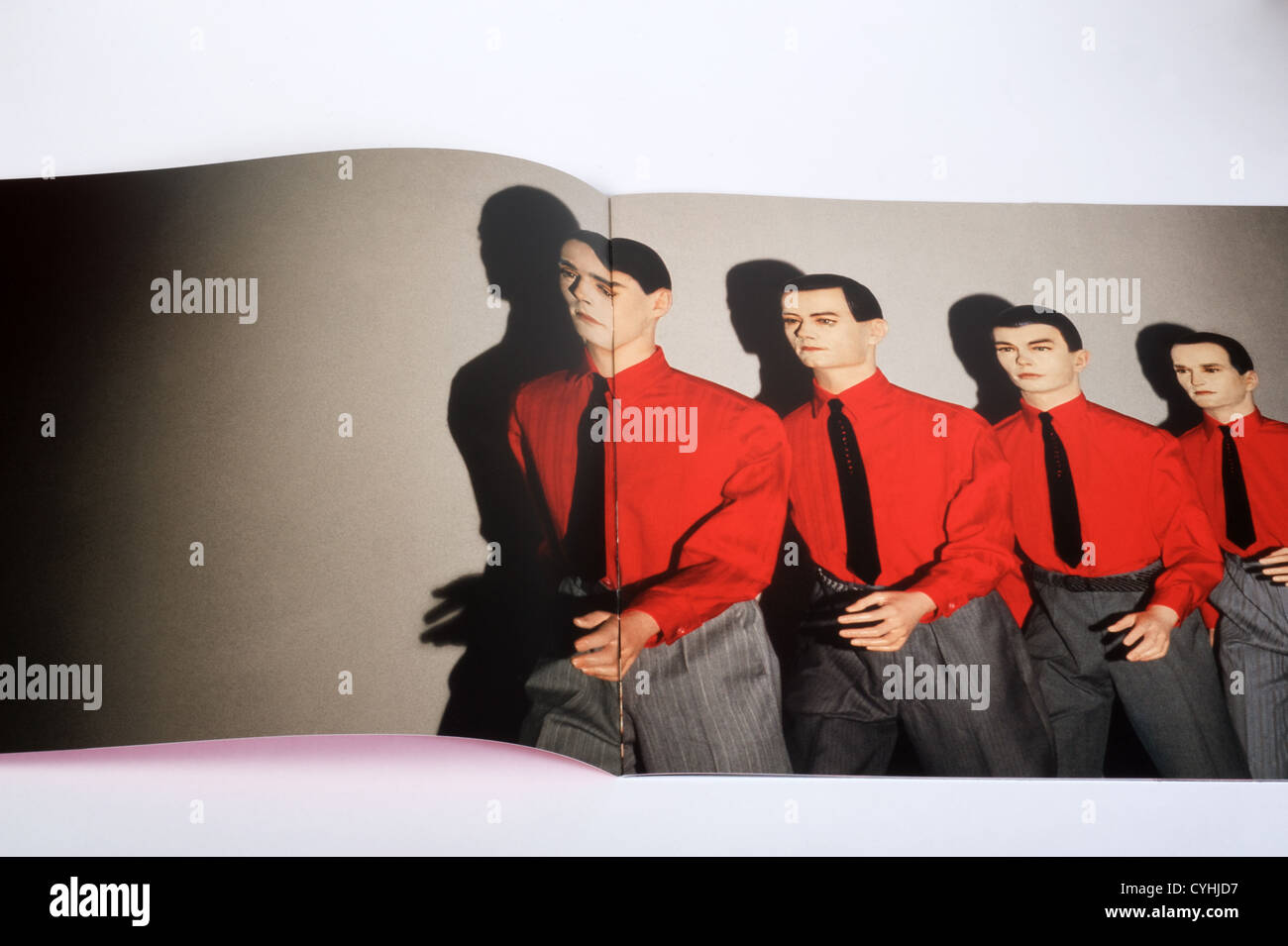 Kraftwerk The Man Machine artwork Stock Photo