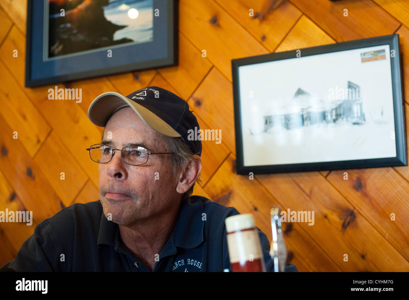 Oct  04, 2012 - Page, Arizona, U S  - PHIL CLINE, owner of the Ranch