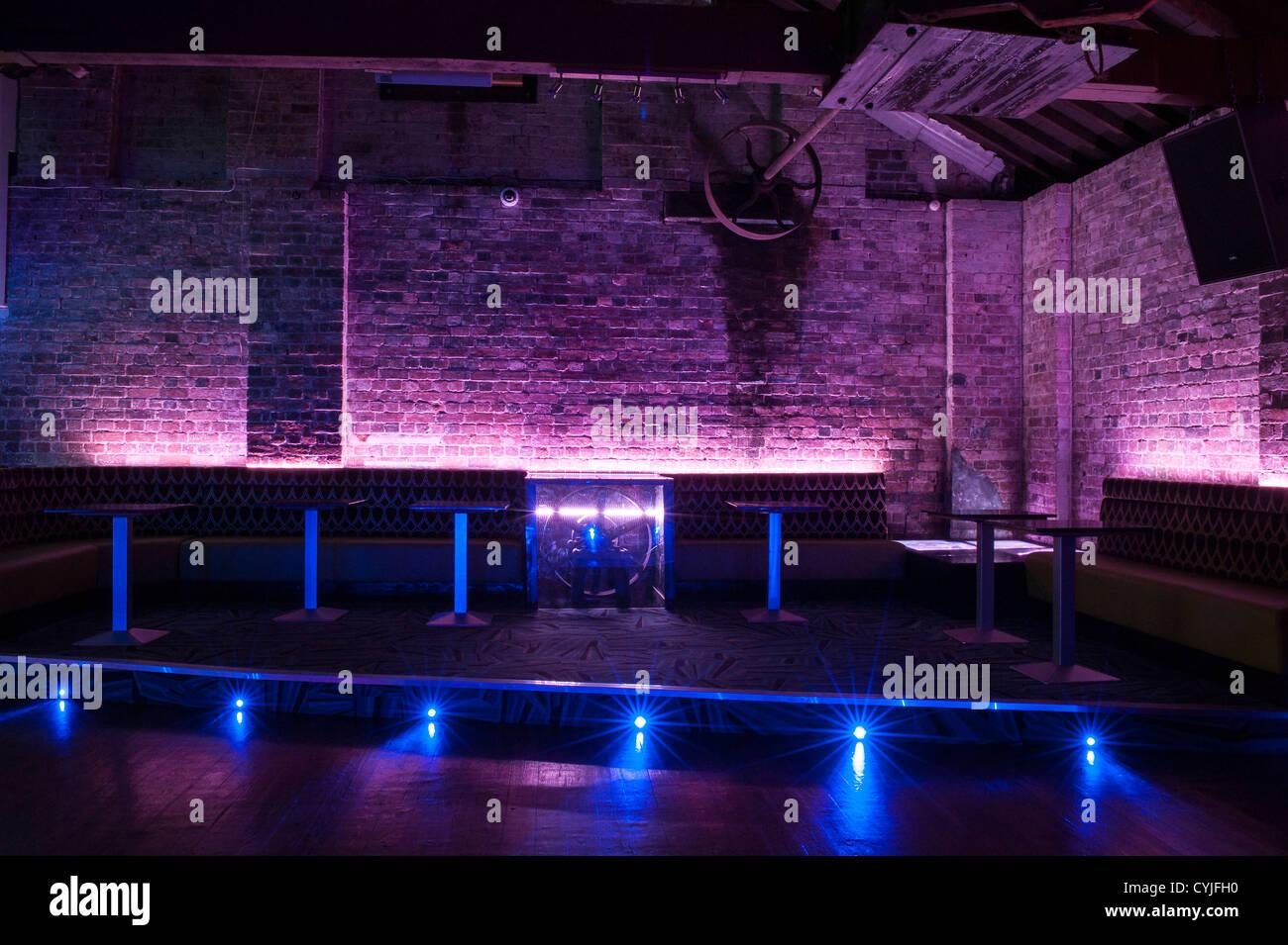 Beautiful Night Club Dance Floor And Seating, Interior Design