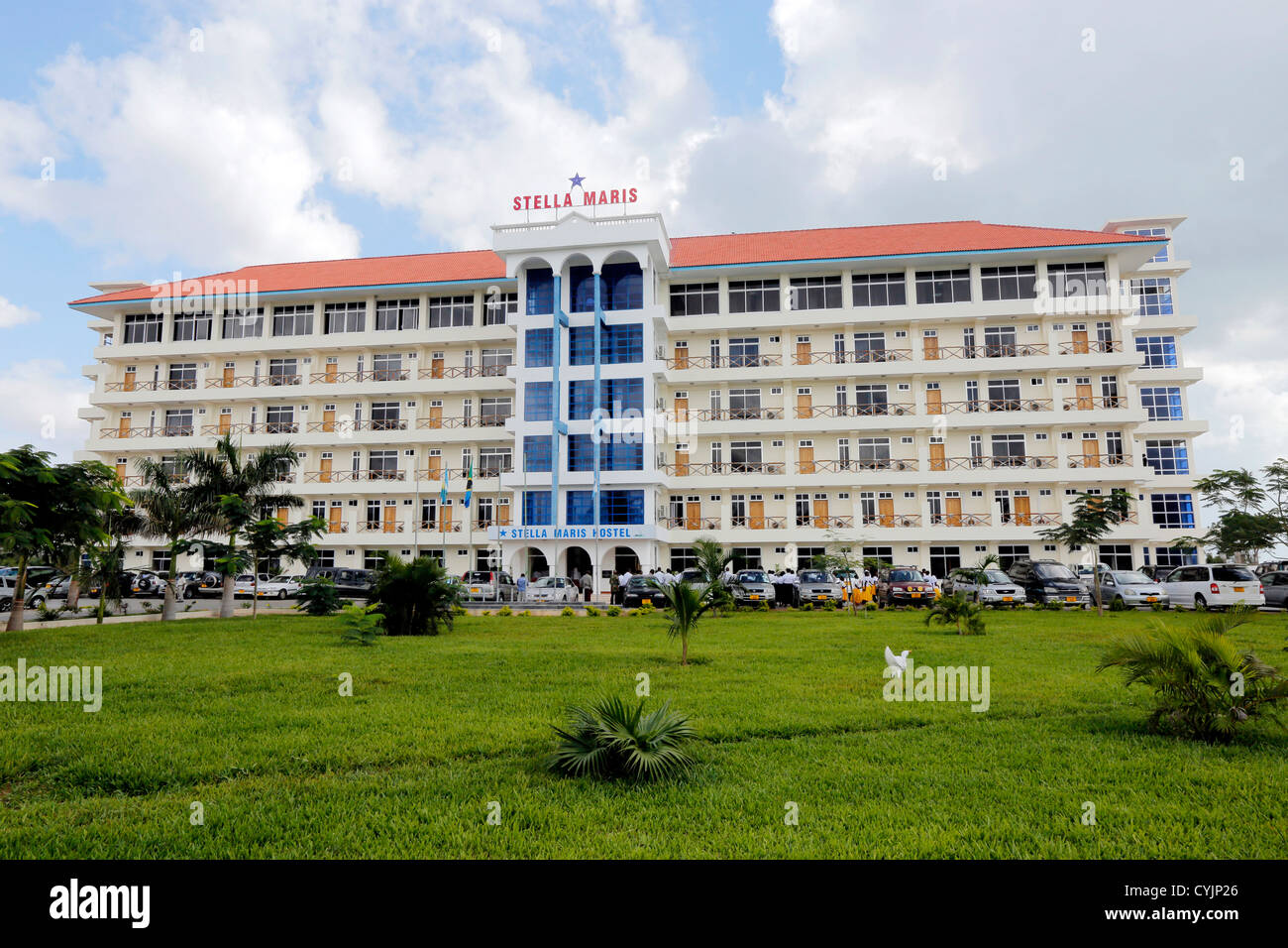 Stella Maris Hostel in Bagamoyo, Tanzania - Stock Image