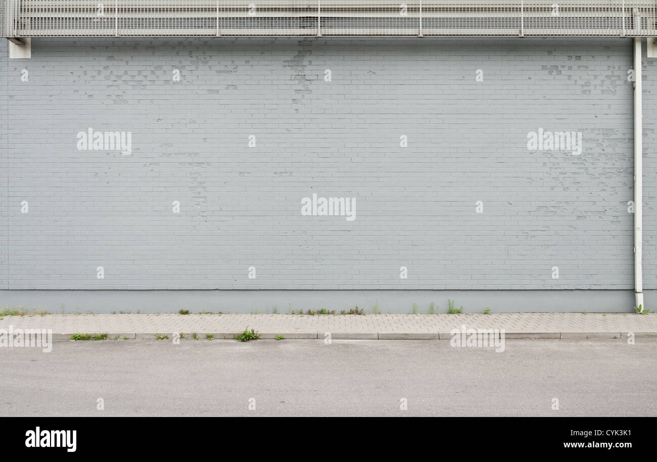Street wall background, texture - Stock Image