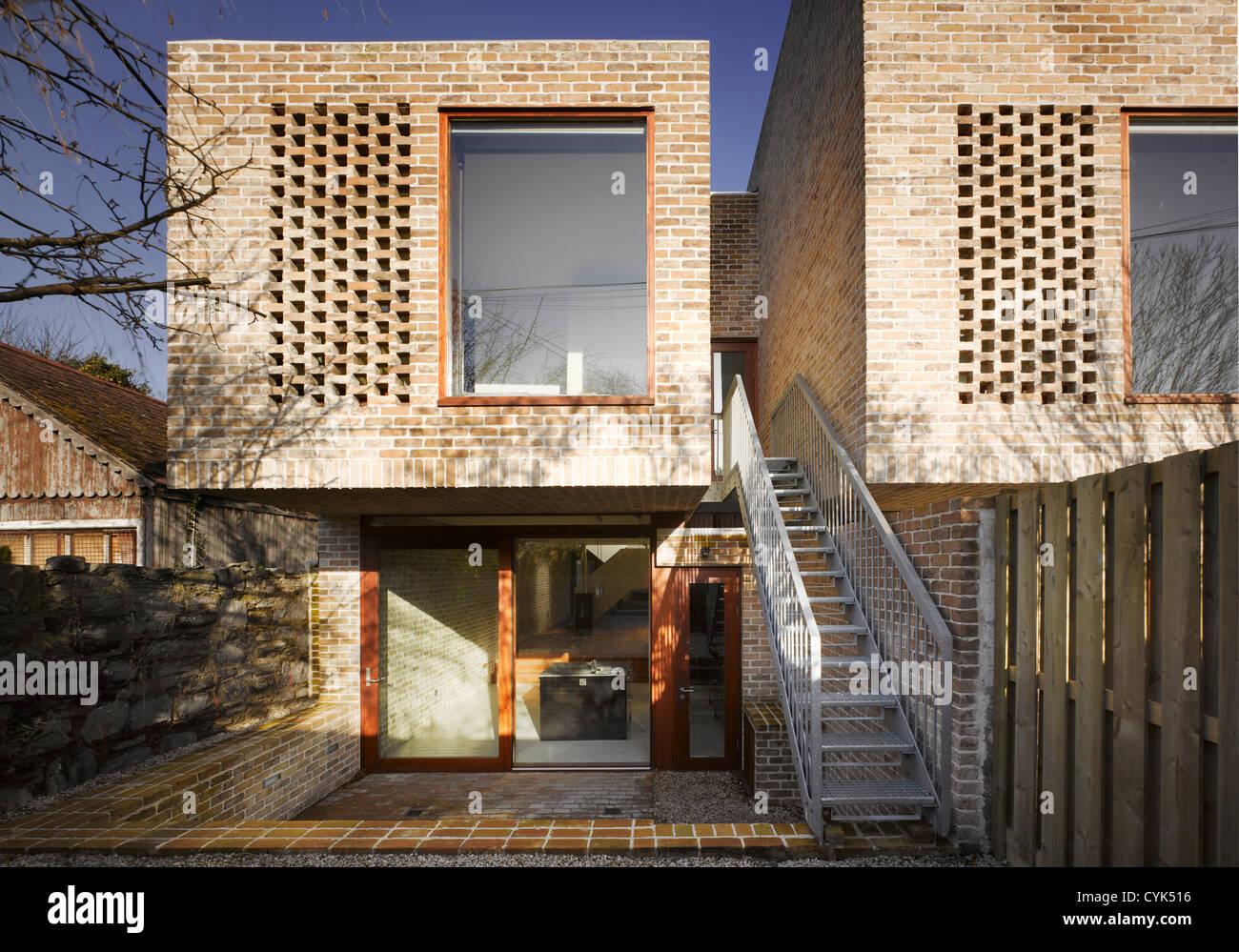 mews houses dublin ireland architect grafton architects 2009