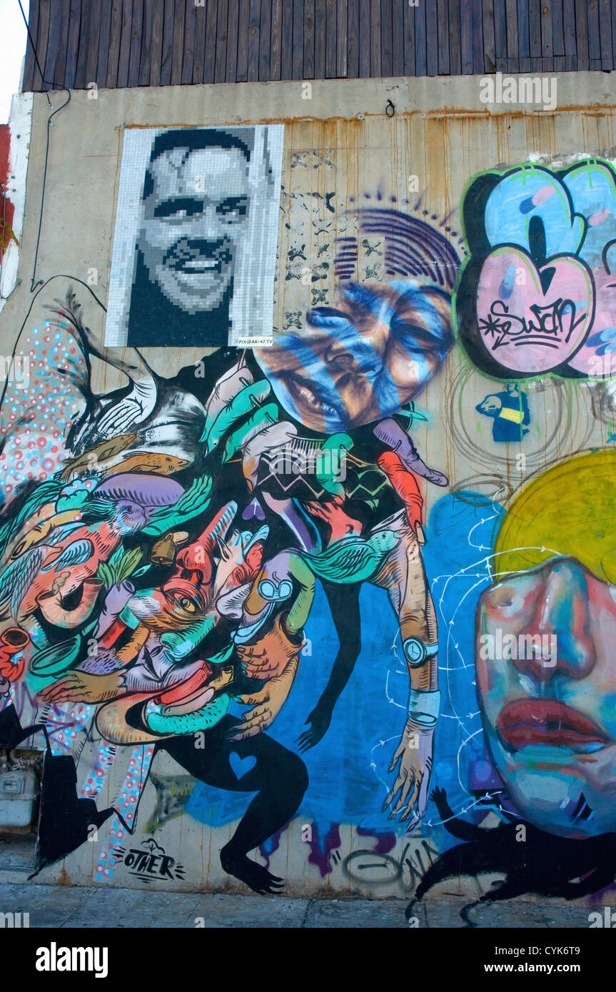 Buenos aires palermo soho street art on a graffiti mundo tour