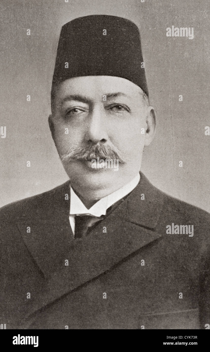 Mehmed V Reshad, 1844 – 1918. 35th Ottoman Sultan. - Stock Image