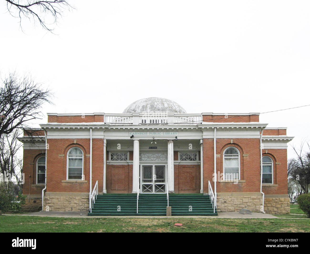 Carnegie Public Library, located at 500 National Avenue in Las Vegas, New Mexico. - Stock Image