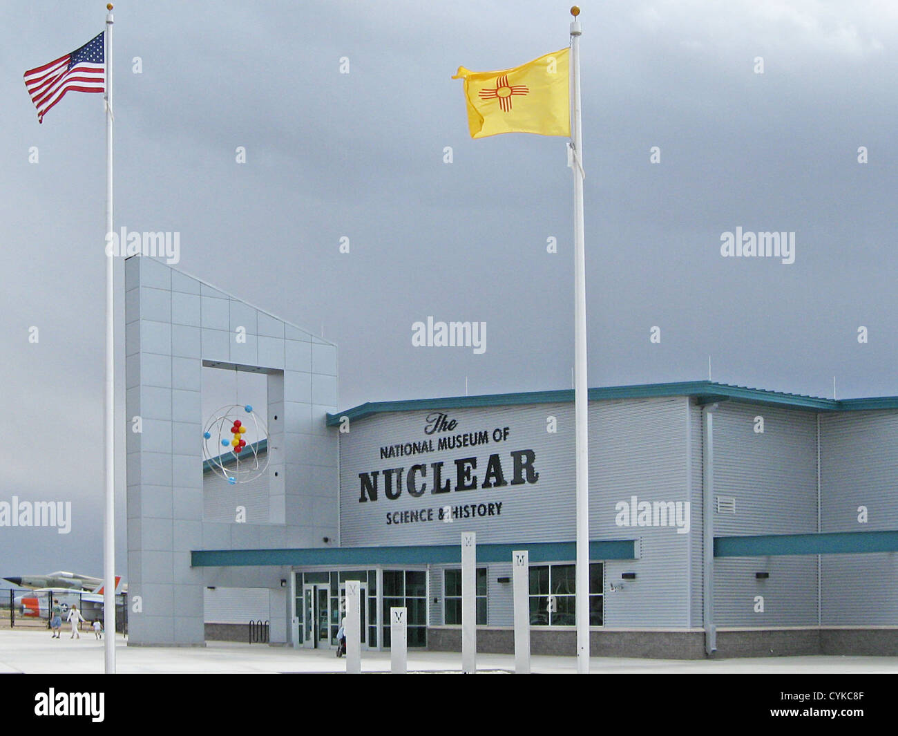 National Museum of Nuclear Science and History, located at 601 Eubank Boulevard SE in Albuquerque, New Mexico - Stock Image
