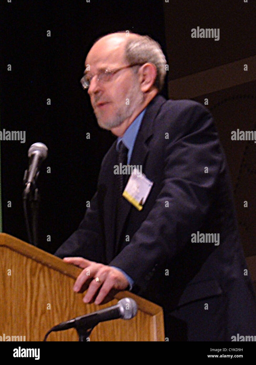 Ronald G. Douglas, Distinguished Professor in the Department of Mathematics at Texas A&M University. Photographed - Stock Image