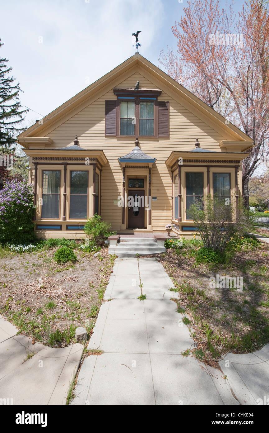Usa Nevada Historic Alfred Chartz House C 1876 Carson City