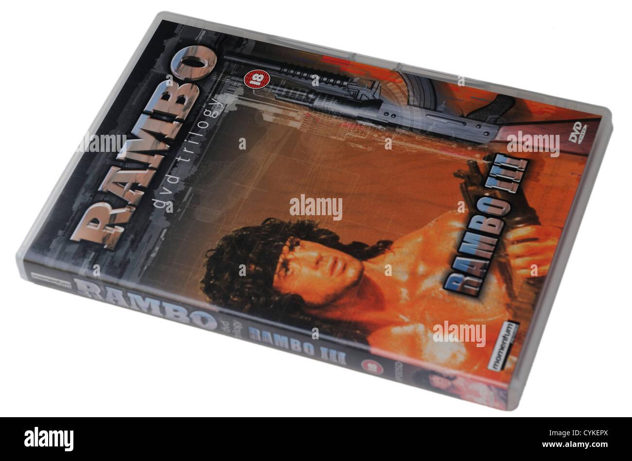 Rambo DVD - Stock Image