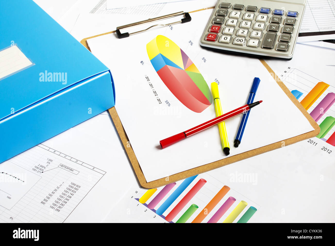 Financial paper charts and graphs on the table stock photo 51448522 financial paper charts and graphs on the table ccuart Image collections