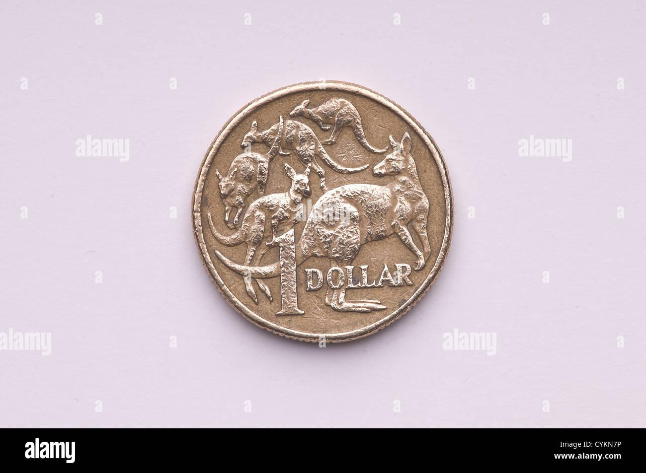 An australian  coin - Stock Image