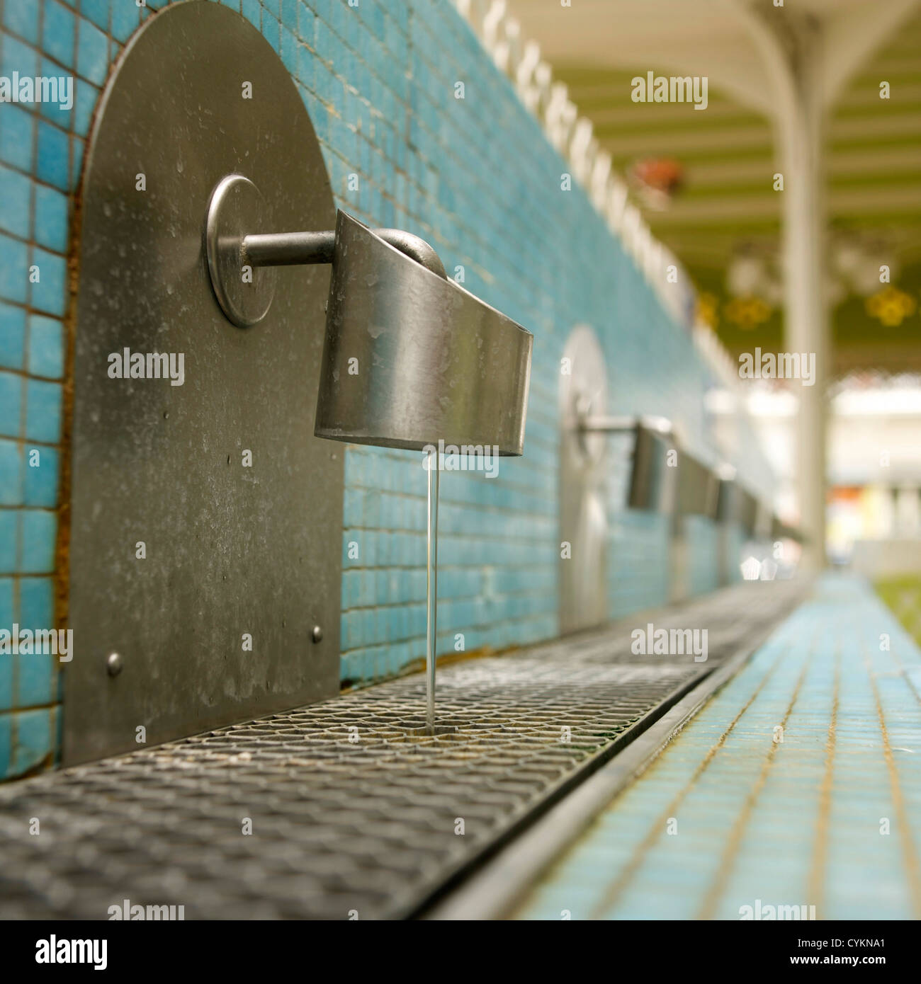 Source in spa of Vichy, Auvergne, France, Europe Stock Photo