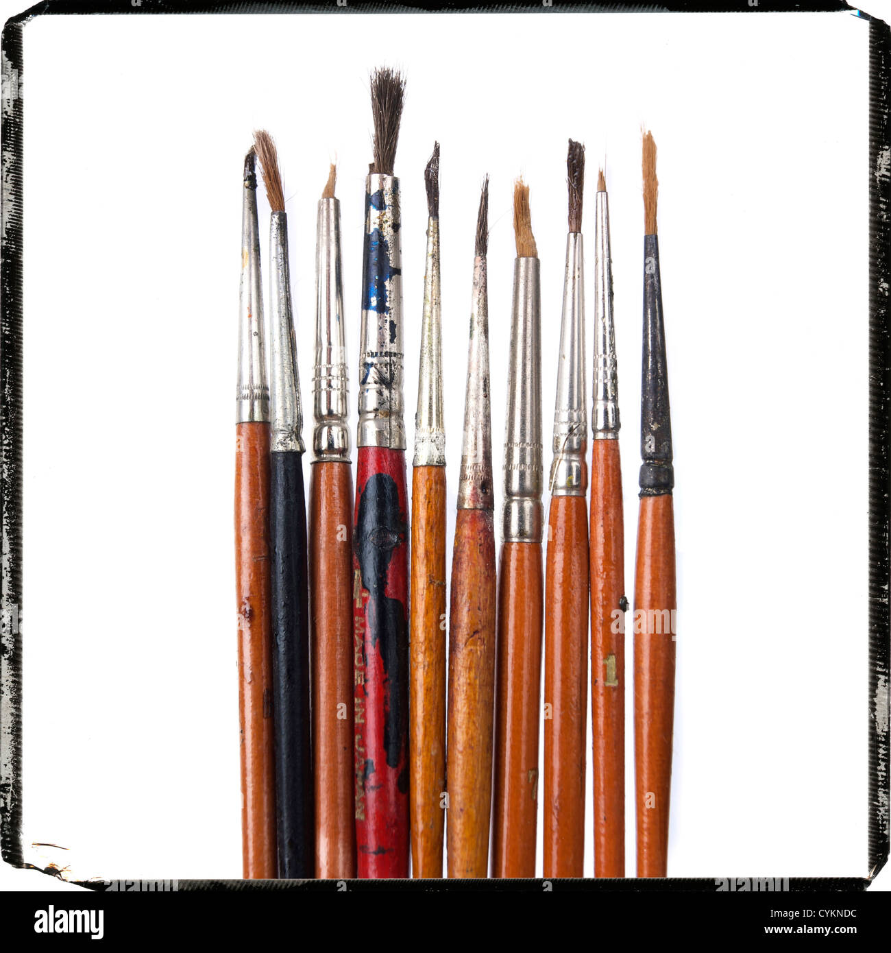 Brushes - Stock Image