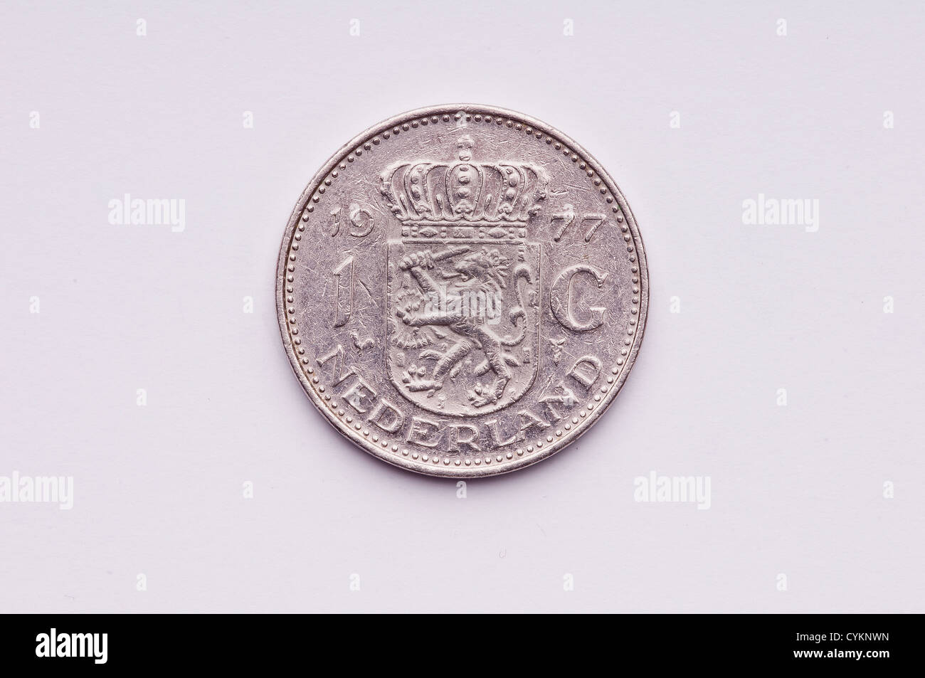 A netherlands coin - Stock Image