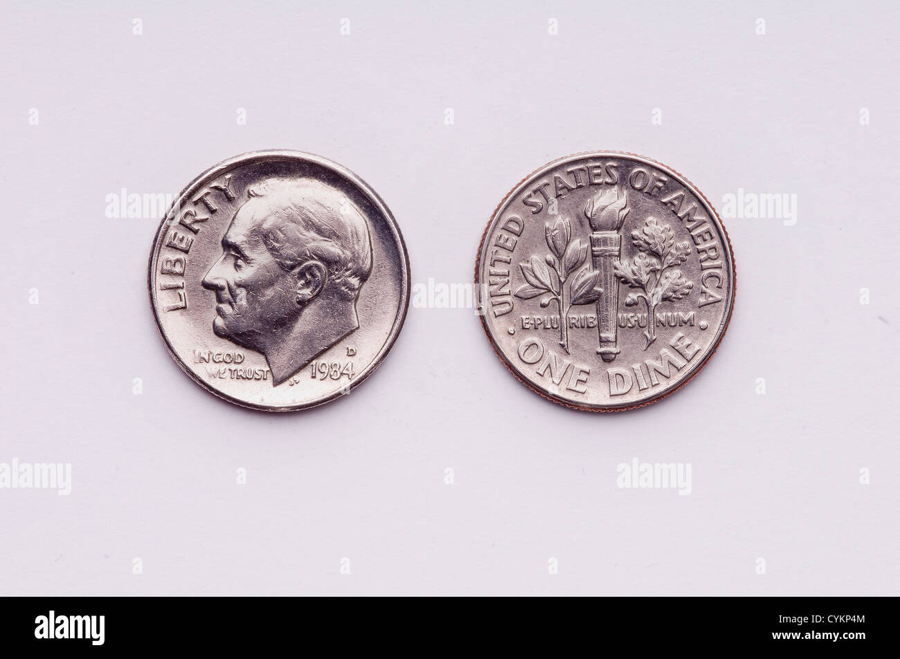 A United states  coin - Stock Image