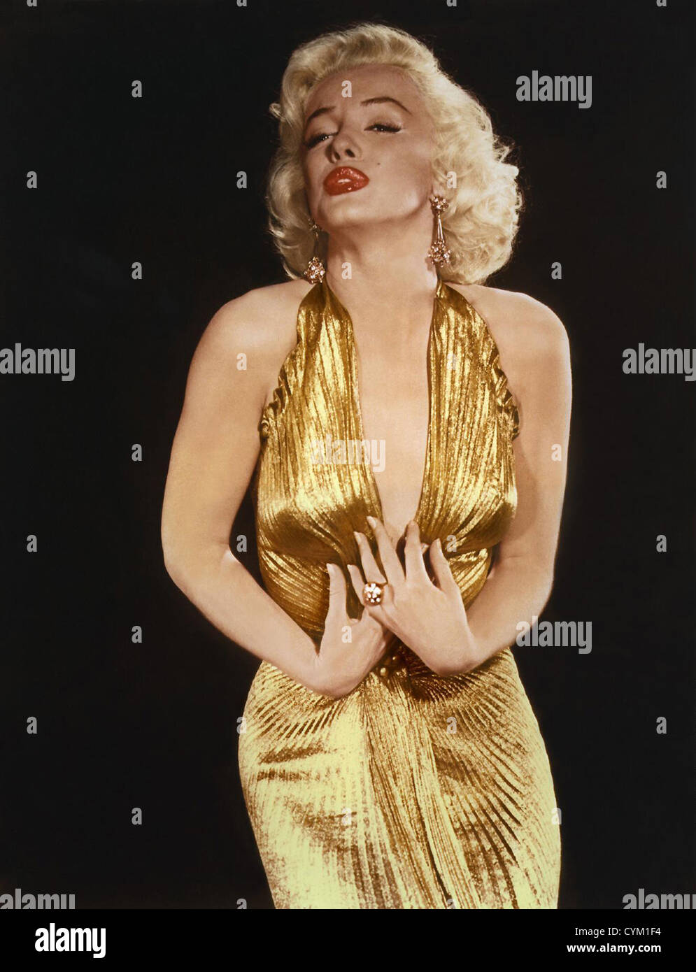 Marilyn Monroe Gentlemen Prefer Blondes 1953 Director: Howard Hawks - Stock Image