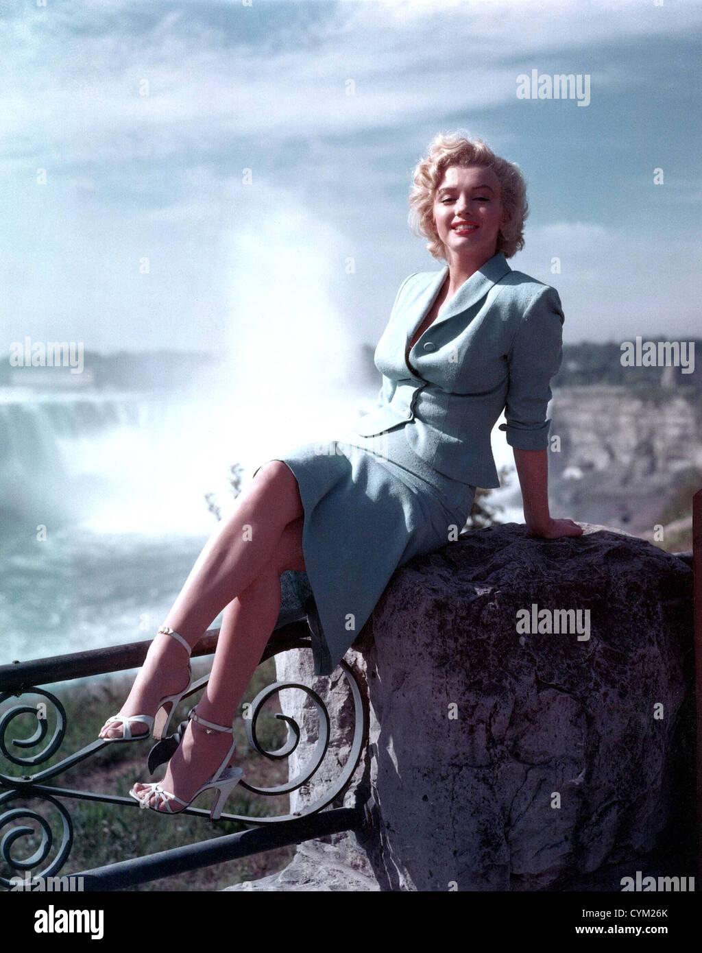 Marilyn Monroe Niagara 1953 Director: Henry Hathaway - Stock Image