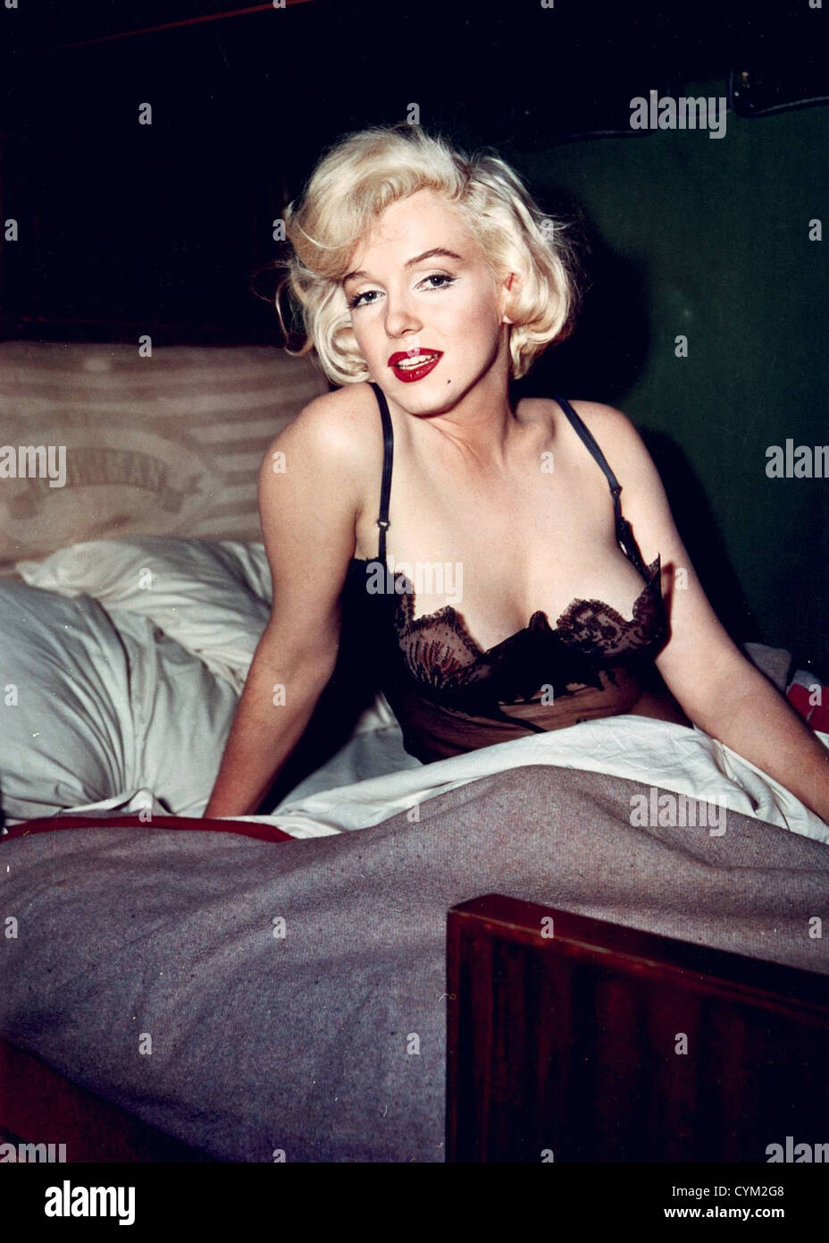 Marilyn Monroe Some Like it Hot 1959 Director: Billy Wilder - Stock Image