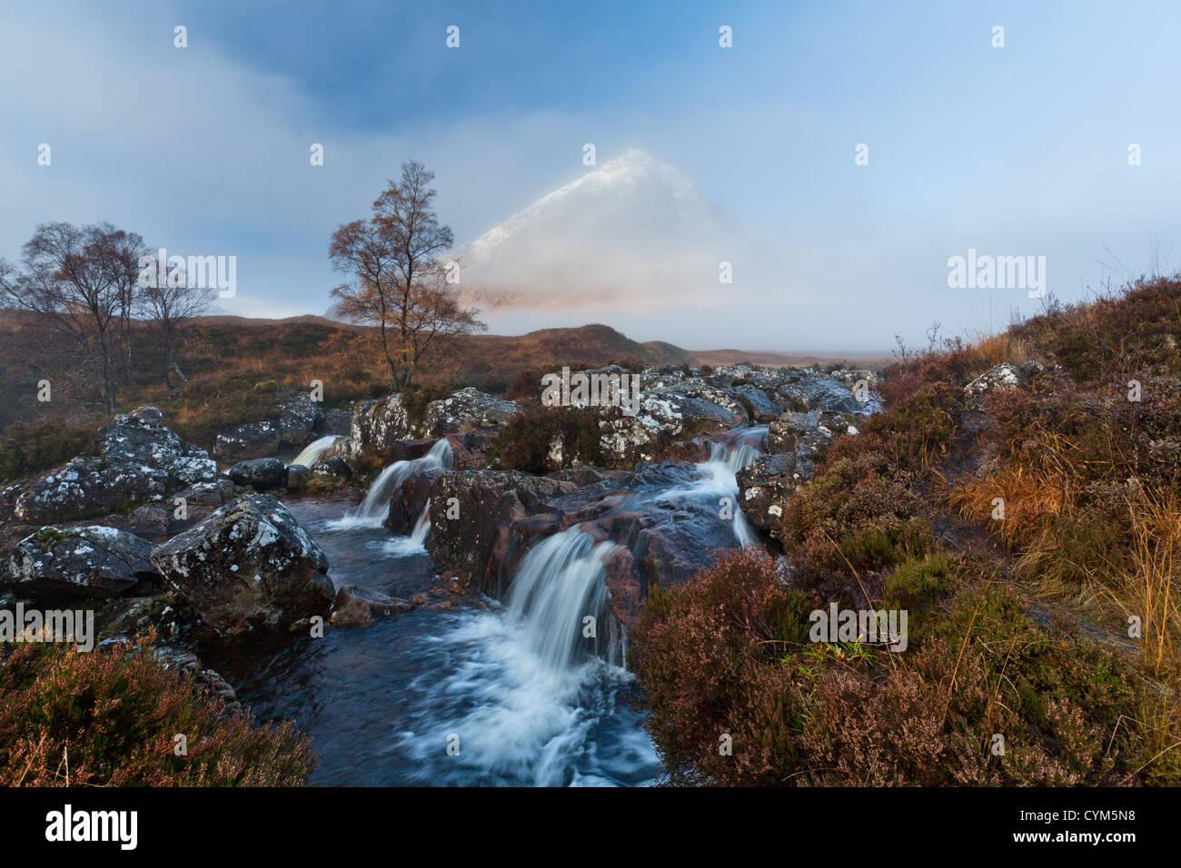 Buachaille Etive Mor, Glencoe, West Highlands of Scotland, - Stock Image