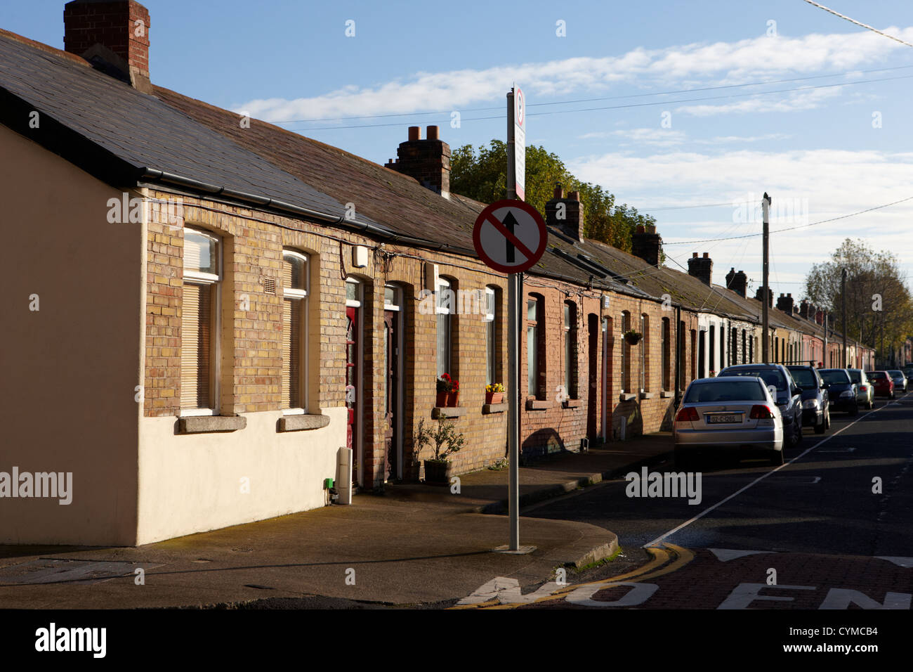 old dock workers cottages south dock street dublin republic of stock rh alamy com holiday cottages dublin ireland rental cottages dublin ireland