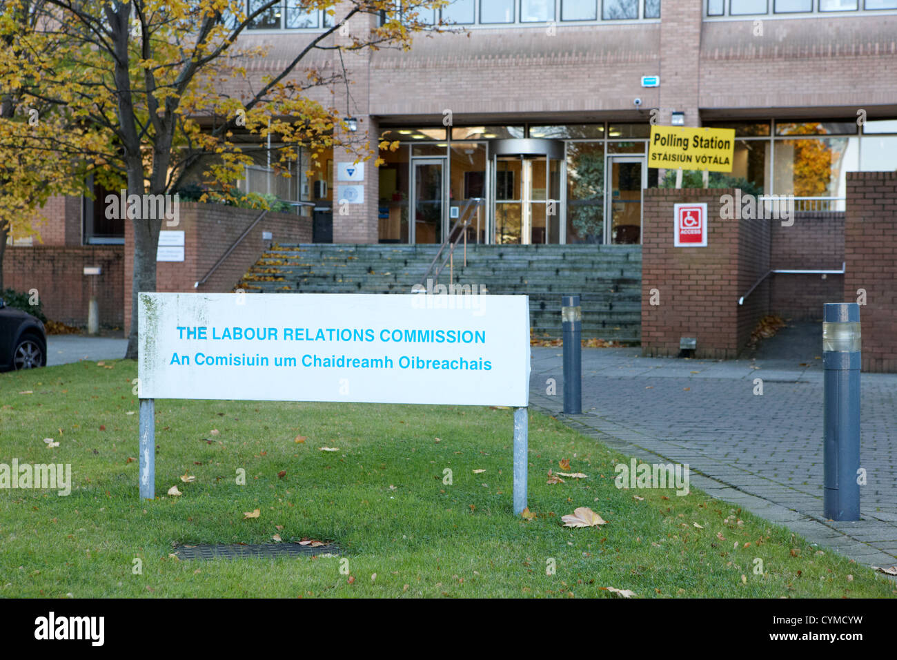the labour relations commission and labour court dublin republic of ireland - Stock Image