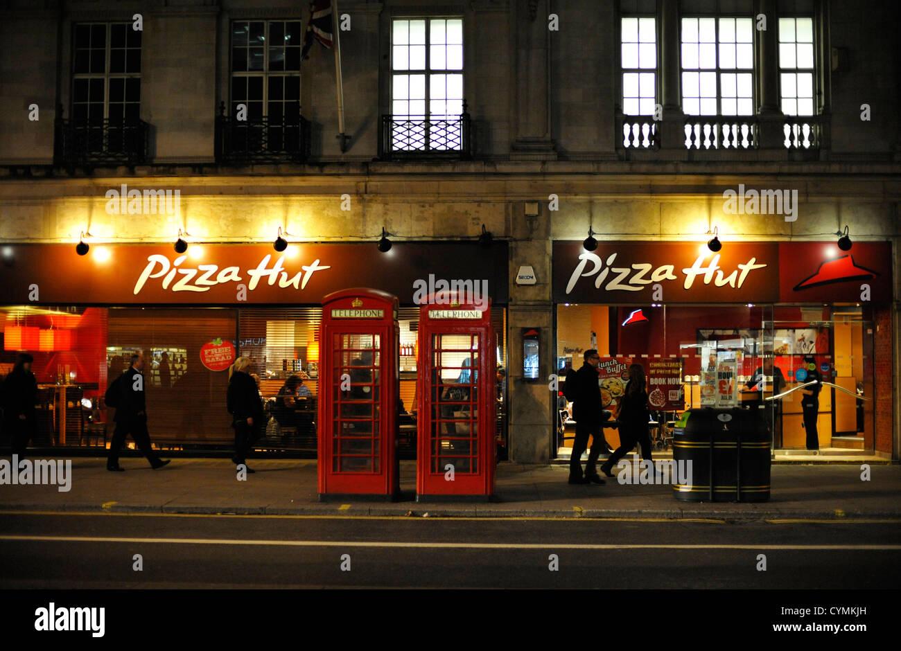 Pizza Hut London Stock Photo 51470905 Alamy