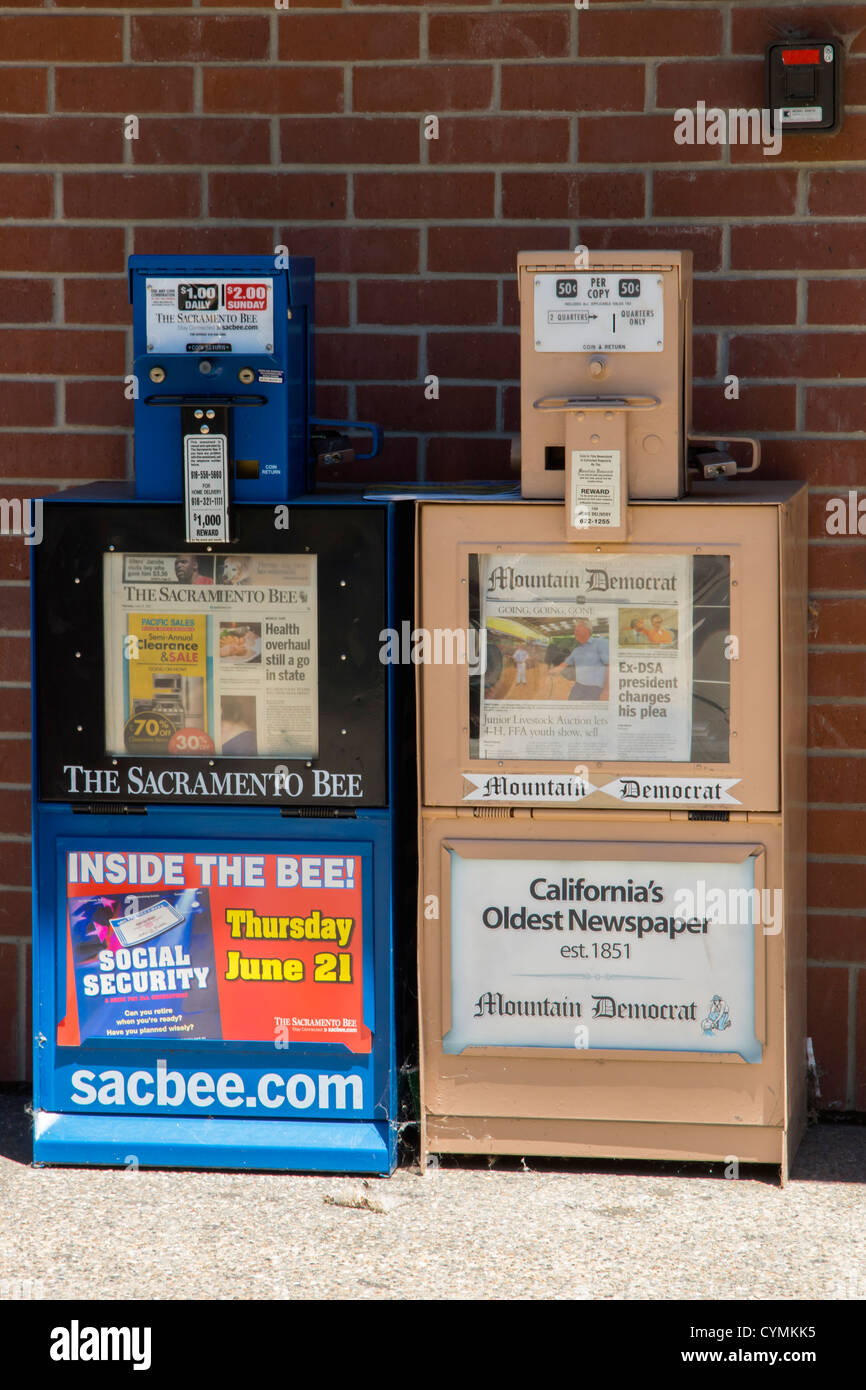 Local Newspapers Stock Photos & Local Newspapers Stock