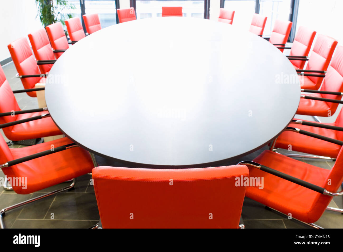 Oval Conference Table Stock Photos Oval Conference Table Stock - Red conference table