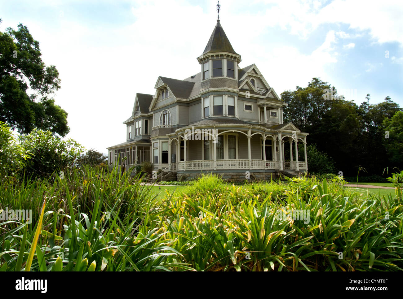 Historic Victorian Home - Stock Image