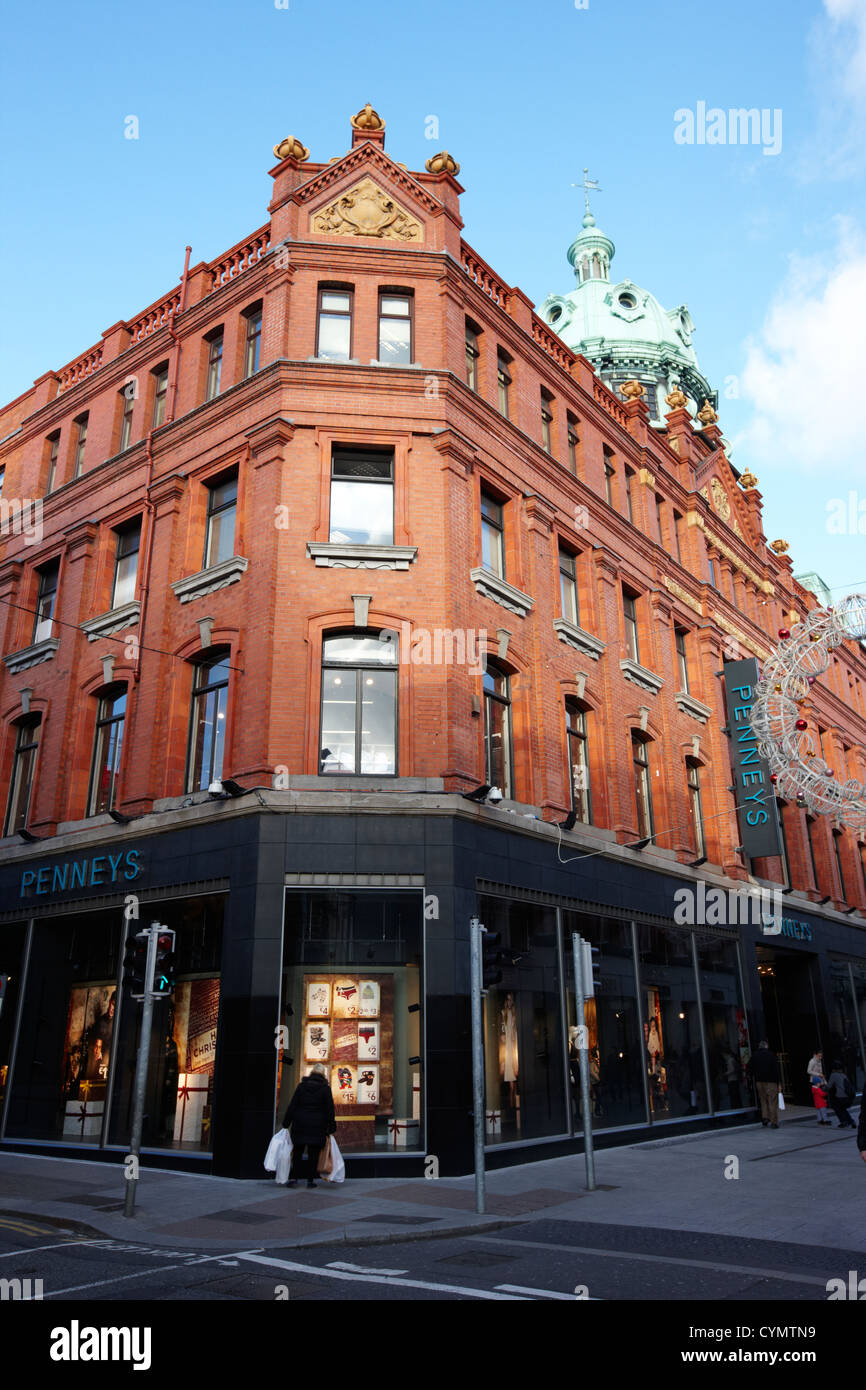 penneys mary street flagship store dublin republic of ireland - Stock Image