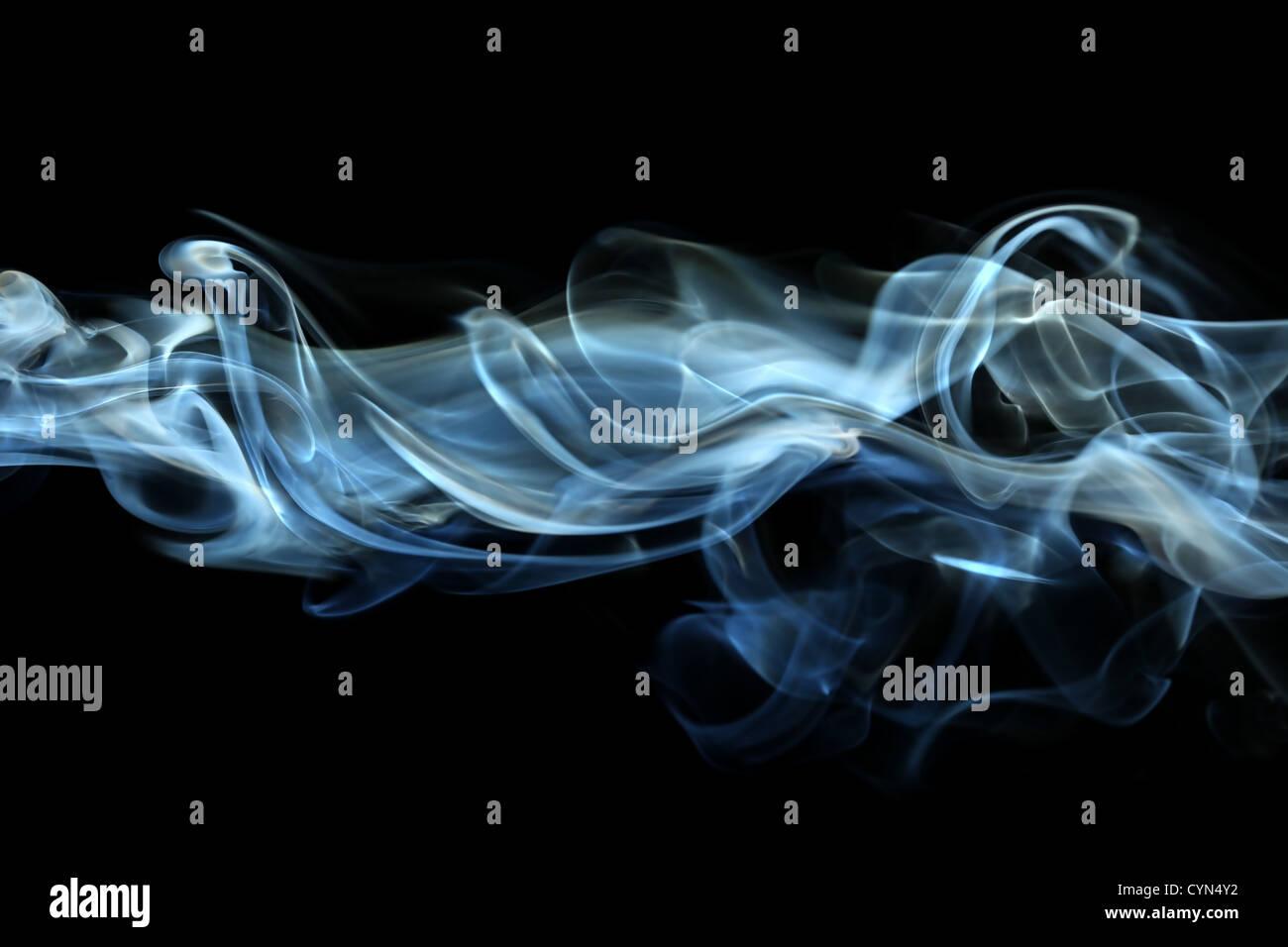 Smoke background - Stock Image