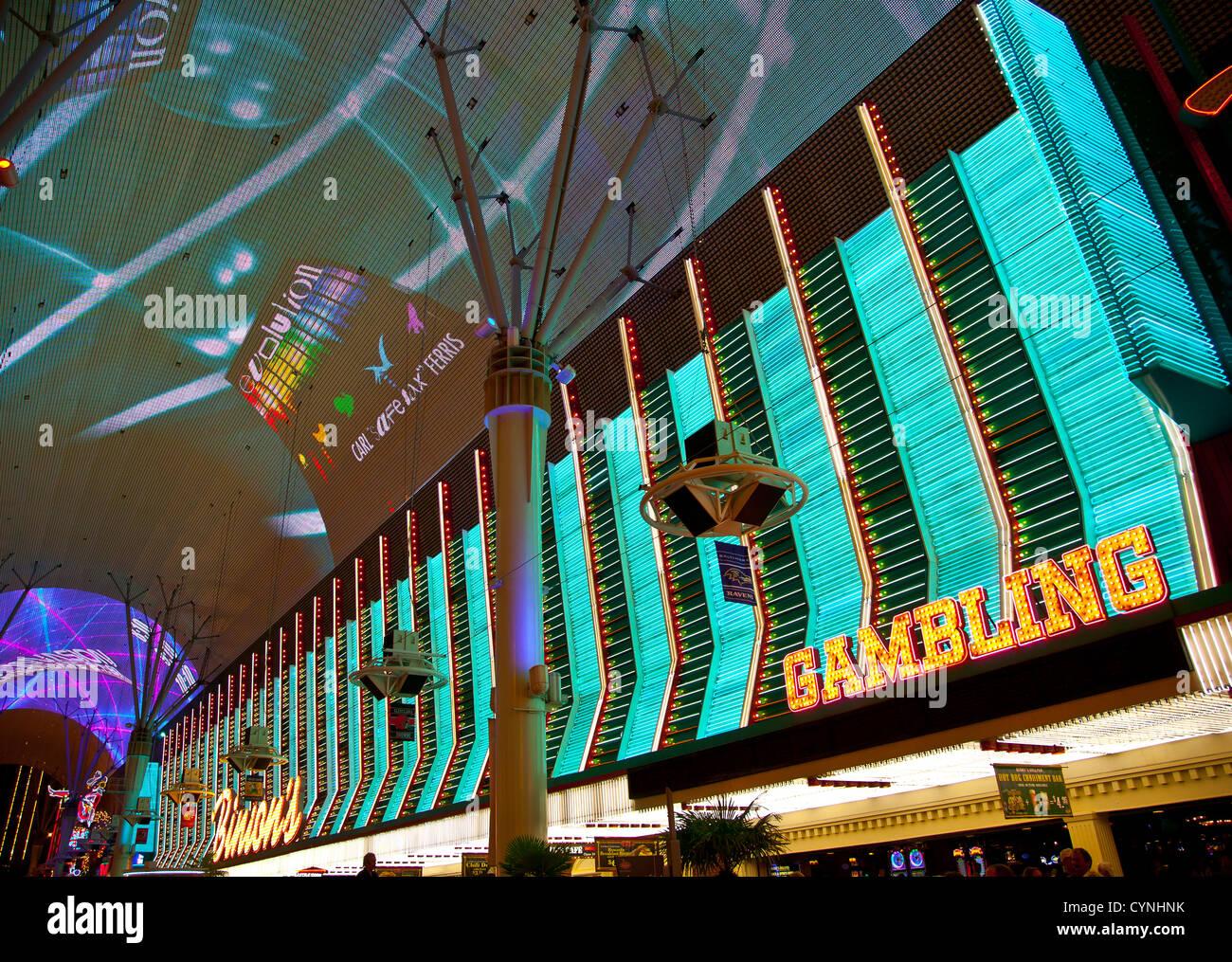 Fremont Street Vegas Stock Photos & Fremont Street Vegas Stock ...