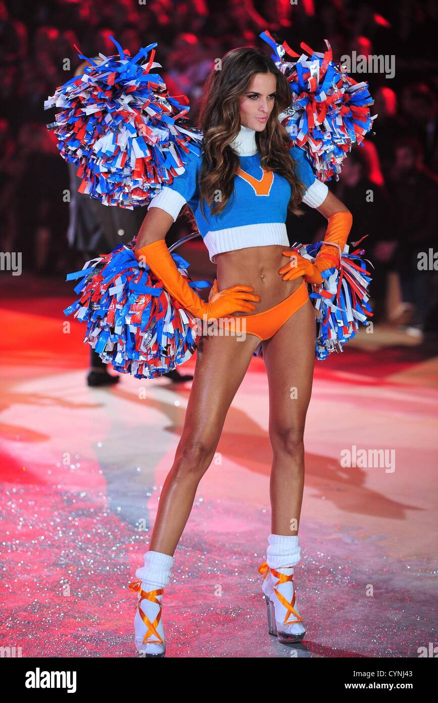 663c7cc8e5 Izabel Goulart on stage for The Victoria s Secret Fashion Show 2012 - Runway