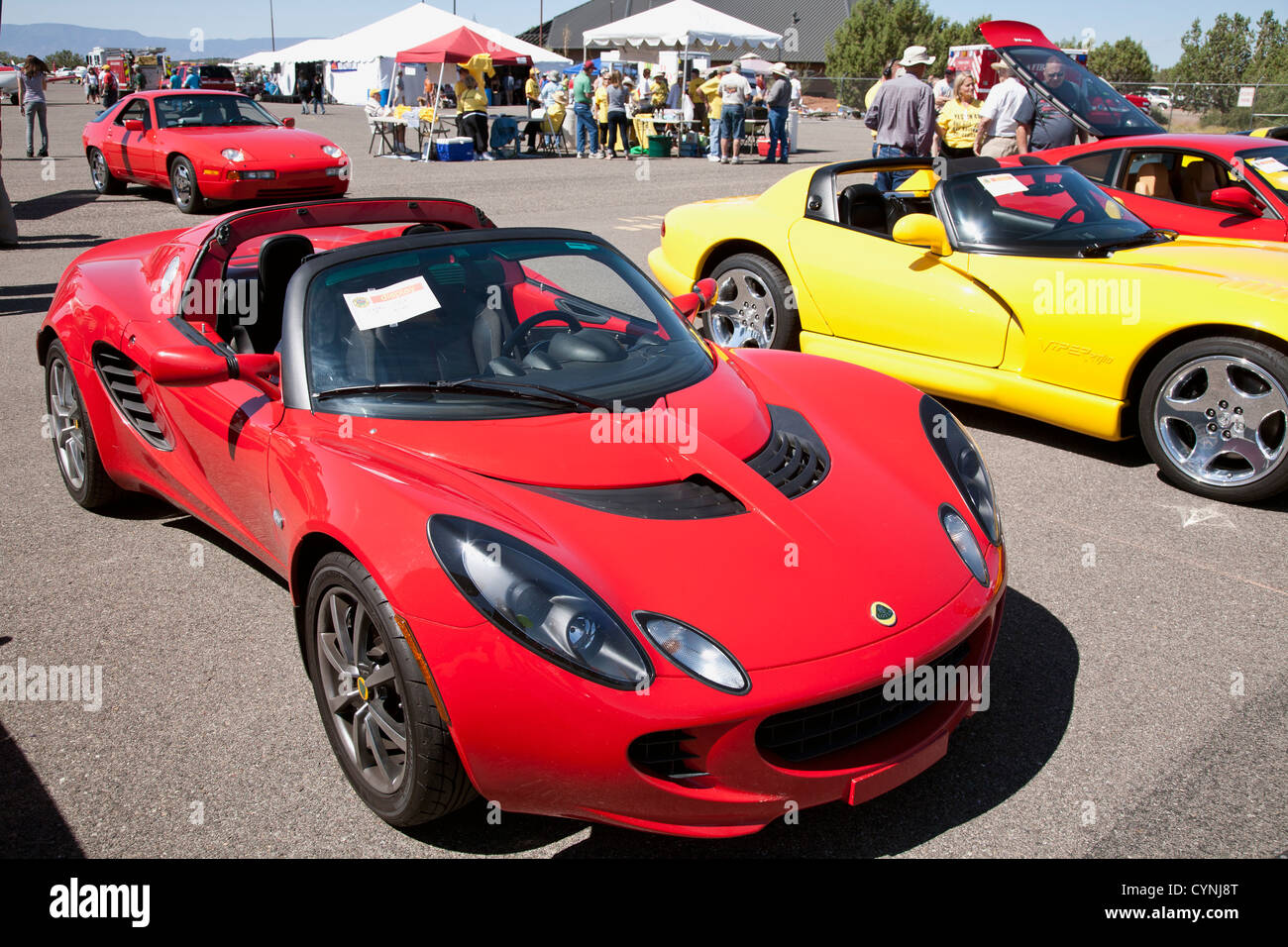 Lotus Elise   Sedona Car Show   Stock Image