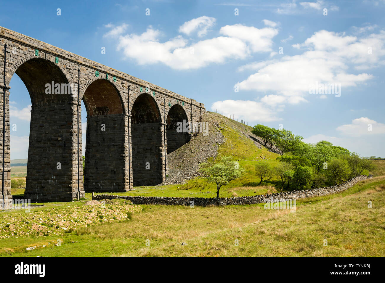 Ribblehead viaduct, North Yorkshire, England, UK Stock Photo