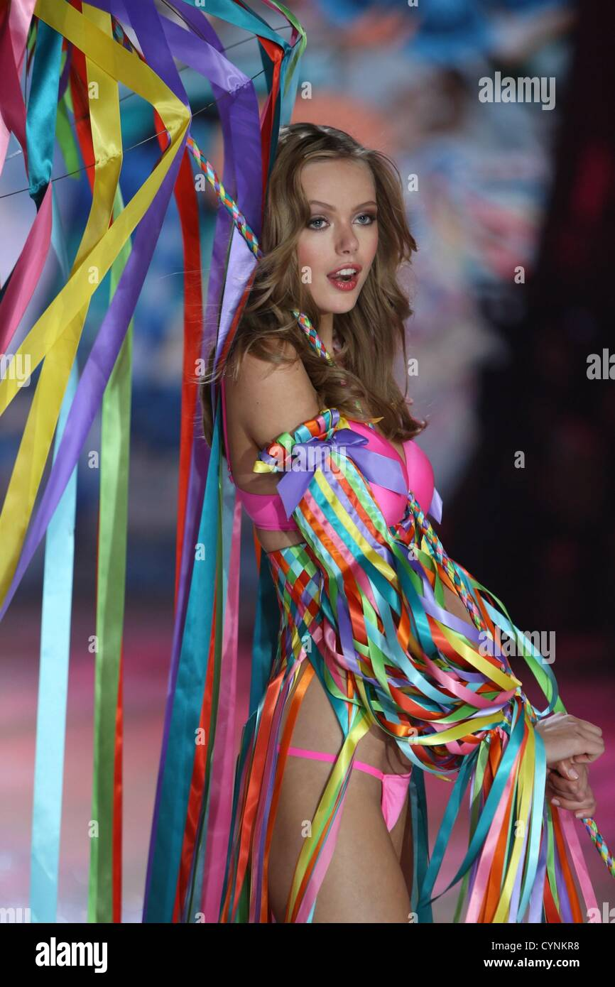 5cb91299cb Frida Gustavsson on stage for The Victoria s Secret Fashion Show 2012 -  Runway