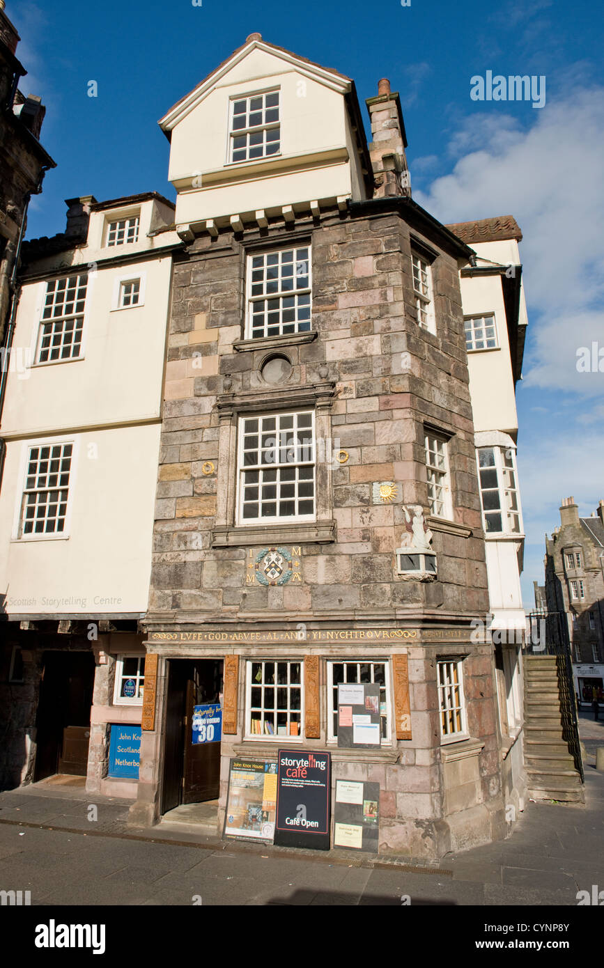 John Knox House, Edinburgh, Scotland Stock Photo