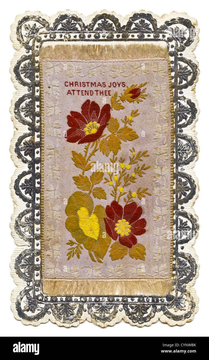 Victorian Christmas Cards Stock Photos & Victorian Christmas Cards ...
