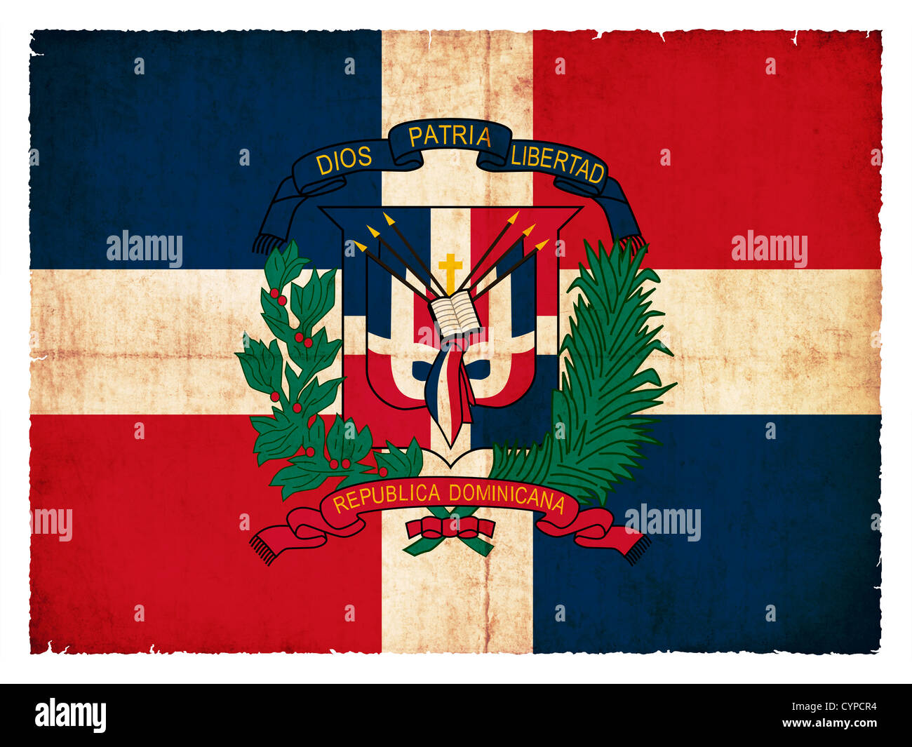 National Flag Of The Dominican Republic Stock Photos National Flag