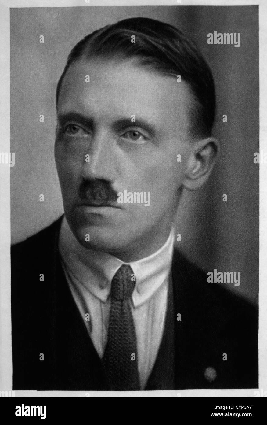 Adolf Hitler, Portrait, 1923 Stock Photo