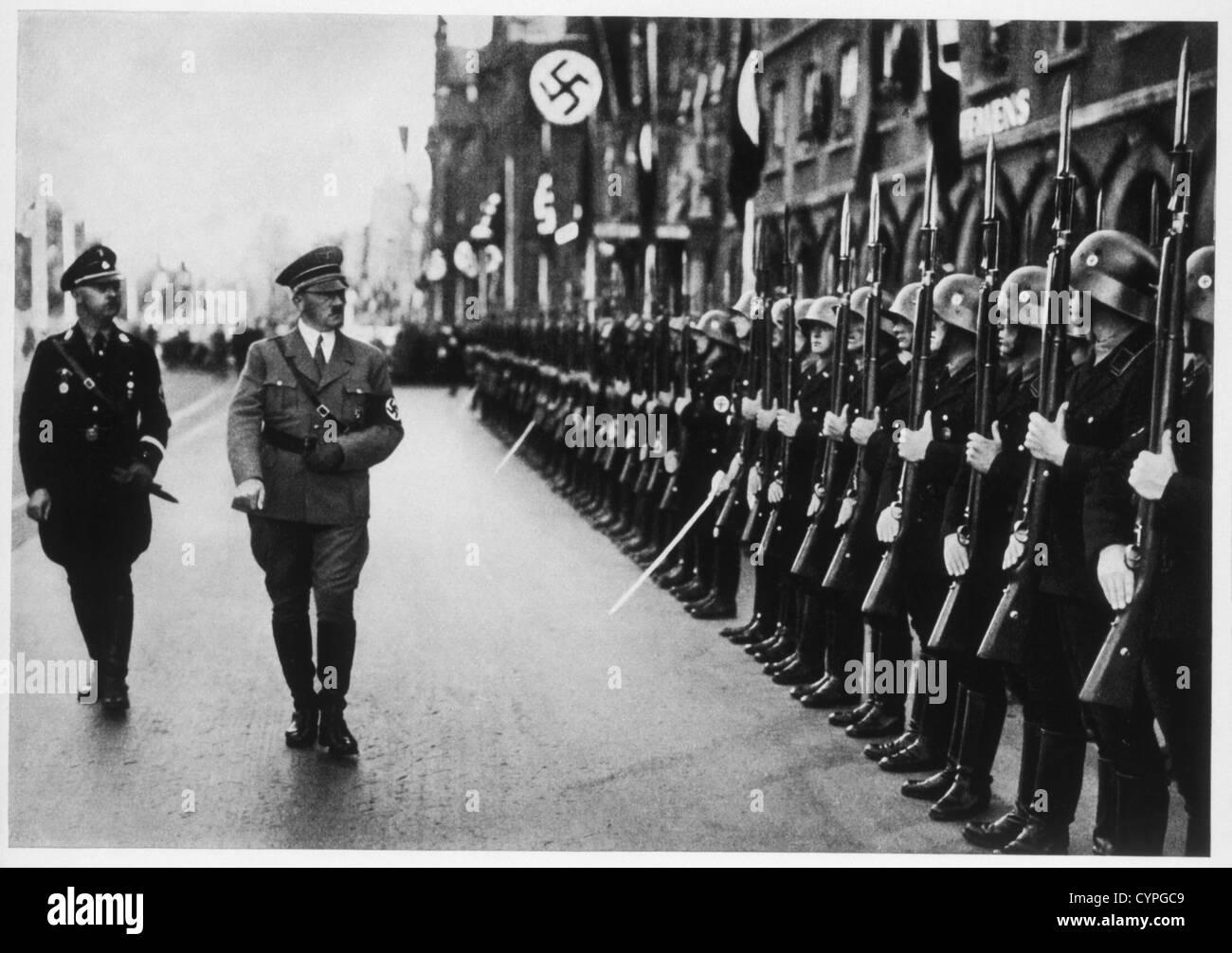 Adolf Hitler at the Parteitag der Freiheit, 1935 Stock Photo