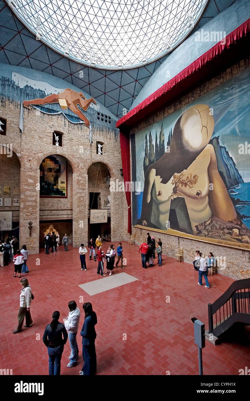 Museo Dali Figueres.Teatro Museo Dali Stock Photos Teatro Museo Dali Stock Images Alamy
